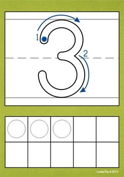 Playdough Mats - Numbers (0-20) with Correct Number Formation and Ten Frames. Can also be used as Tracing cards, Number Floor Puzzles, Number sorting Game, Find-the-pair Game,  Flip 10 Game... Great classroom visual too! $
