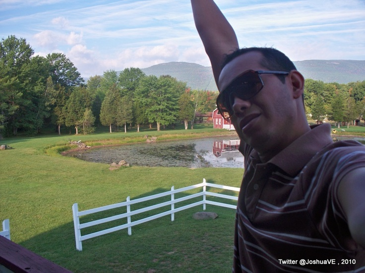 Me! relaxed @ The katerskill hotel 1 hour from #NYC manhattan I recommend it!