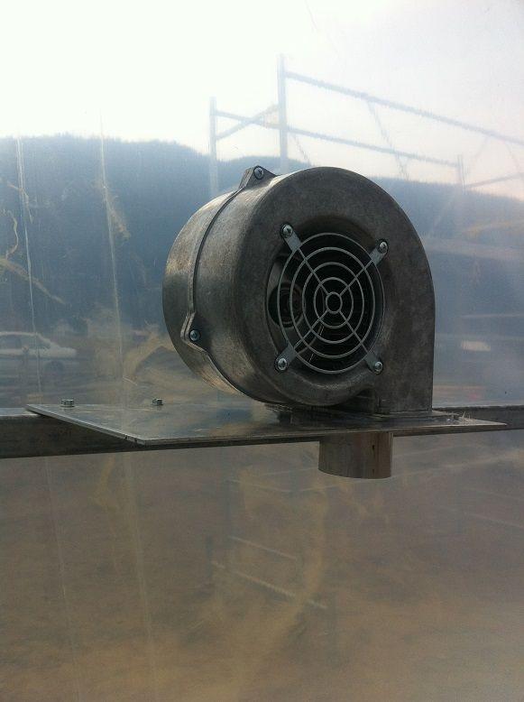 Inflator pentru folie solar dubla KIT