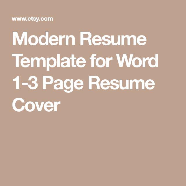 25+ unique Job resume template ideas on Pinterest Job cv, Modern - resume setup