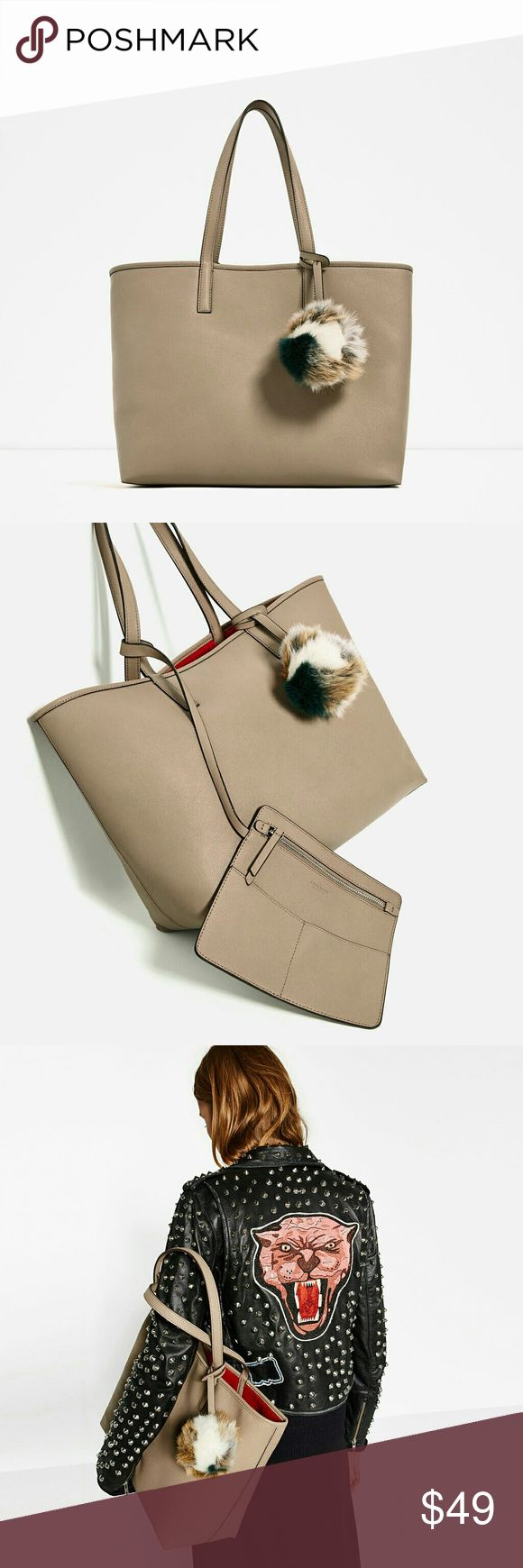 Zara Reversible Tote Bag Authentic Zara Tote Bag. Brand new with tags in original dustbag. Zara Bags Totes