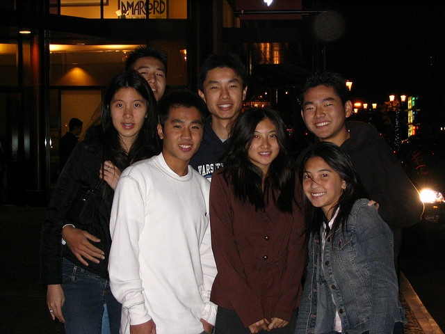 Group picture after RENT and after asking Ronald and Kenny to Winter Formal with Sonya. Thank you Yosuke and Andrew so much for helping!    Credits: Random girl using Kenny's camera. :]