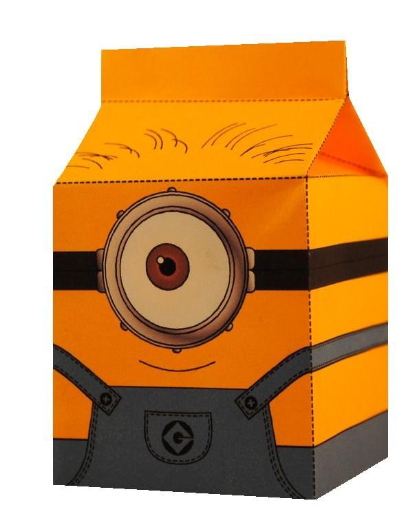 Minions kinderfeestje? Hoe leuk zijn deze zelf te downloaden Minion traktatie doosjes in de vorm van een melkpakje... zie www.printpret.nl voor het complete Minion feestpakket.