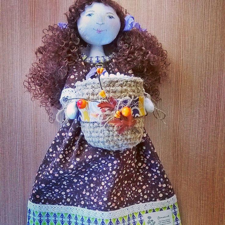 Феечка-хранительница ватных палочек и дисков