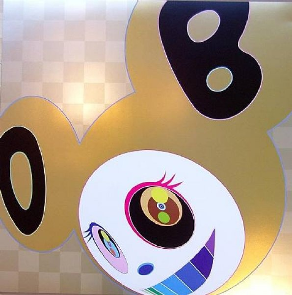 Golden DOB - Lithograph in colours, 2006. Signed & numbered Ed. 300. Size: 0.68 x 0.68m    www.waltonfinearts.com
