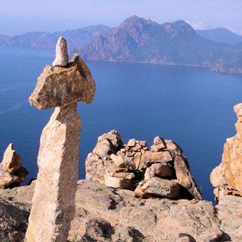 En Corse, les Calanche de Piana
