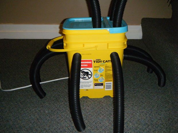 DIY Boot/Glove Dryer from Exhaust Fan