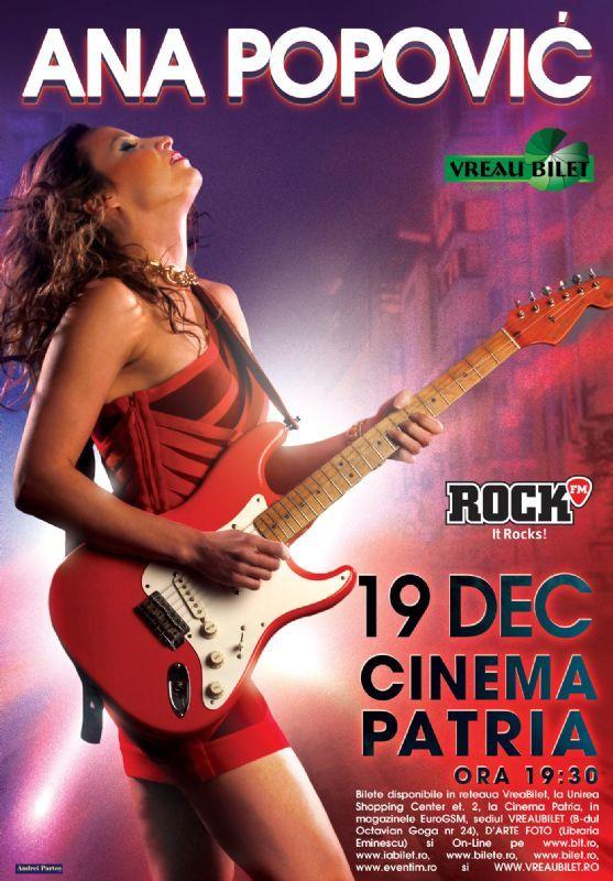 Sambata, 19 Decembrie 2015, ora 19:30, Cinema Patria, Bucuresti