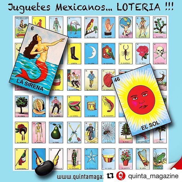 """LOTERÍA: Juguetes y juegos mexicanos #infografía  La lotería, es un juego de azar que consta de un bonche de 54 cartas y un número indefinido de tarjetas llamadas """"tablas"""" con 16 de dichas cartas escogidas aleatoriamente. Cada vez que se extraiga una carta del bonche, ésta se anuncia y los participantes deben marcar esa carta en sus tablas si la tienen. El ganador será quien primero forme en su tabla la alineación que se haya especificado al inicio del juego con las cartas marcadas y grite…"""
