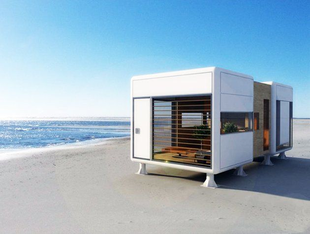 S-Archetype's Chamfer Home is a tiny, eco-friendly home that boasts total independence from the grid.