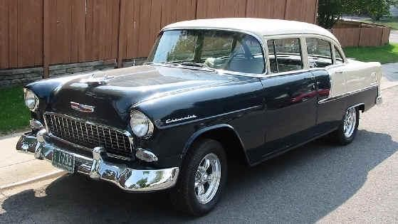 10 images about 1955 chevys the hot one on pinterest for 1955 chevrolet 210 4 door sedan