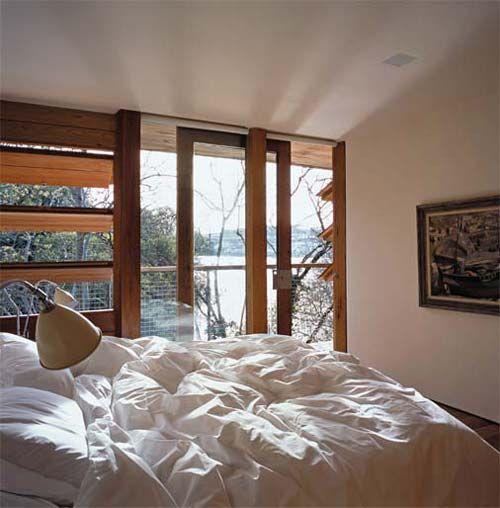 esquadrias Projeto arquitetônico de Seth Stein.