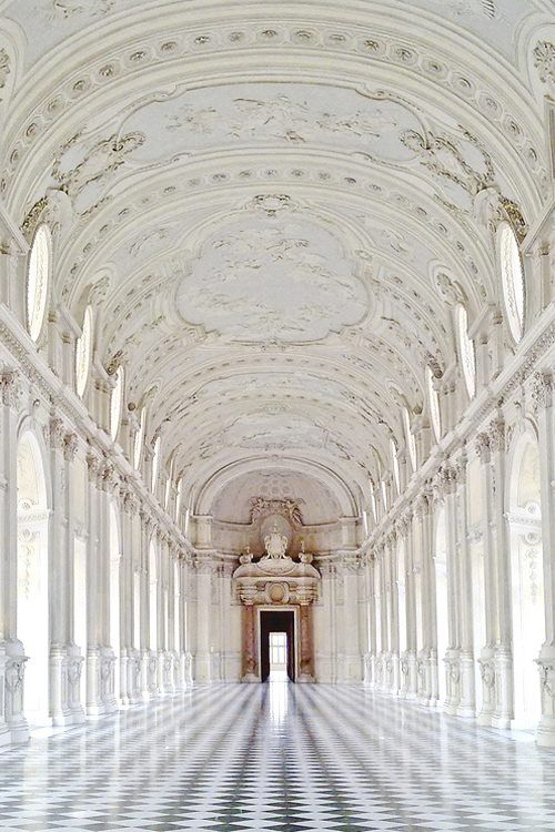 Venaria Reale Royale Castle, Turin, Italy: