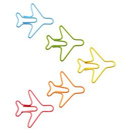 Stay organized with airplane paperclips!
