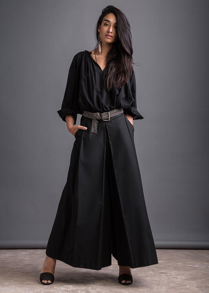 Gina wearing Bodice pants, shot by Porus Vimadalal and styled by Prayag Menon, #NewIndianVoice
