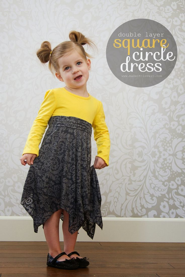 Square Circle Dress - Tutorial