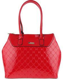 Pierre Cardin Red Patent Handbag
