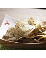 Maicih adalah brand makanan khas Indonesia yaitu keripik pedas. Maicih didirikan pada 10 Juni 2010 oleh Dimas Ganjar Merdeka. Maicih suskes memasarkan produknya melalui social media twitter @Maicih. Saat in Maicih memproduksi kudapan – kudapan lainnya seperti Gurilem, Basreng , macaroni, dll.