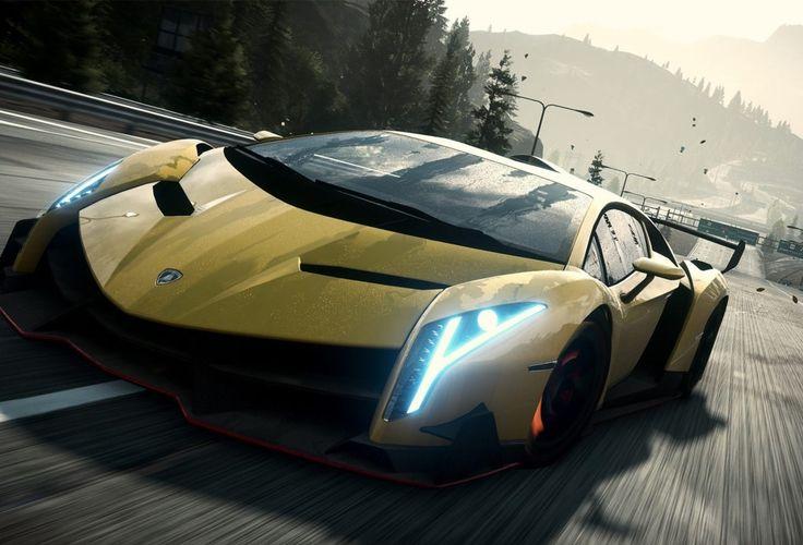 Lamborghini veneno yellow wallpapers hd 1080p download - Sick lamborghini wallpaper ...