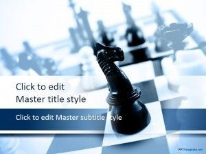 Free Chess Knight PPT Template