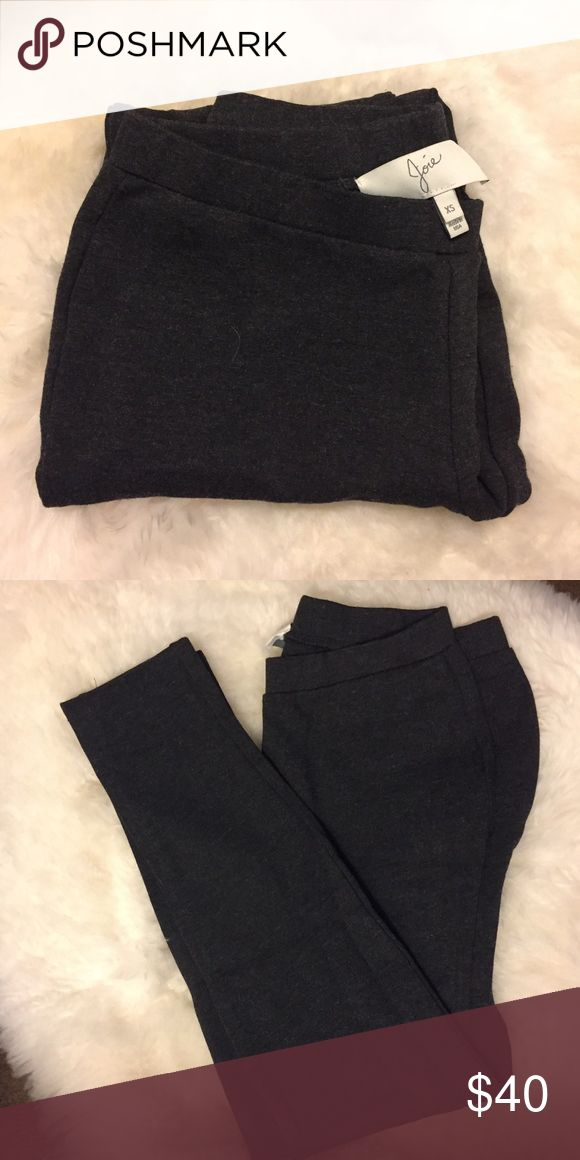 Joie Charcoal Leggings Super nice quality Joie leggings in a size xs. Tried maybe once but never worn outside or washed. In like new condition! Joie Pants Leggings