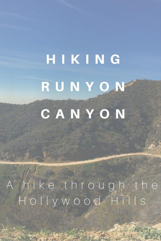 Hiking Runyon Canyon   Jet-setting Spirit   Los Angeles