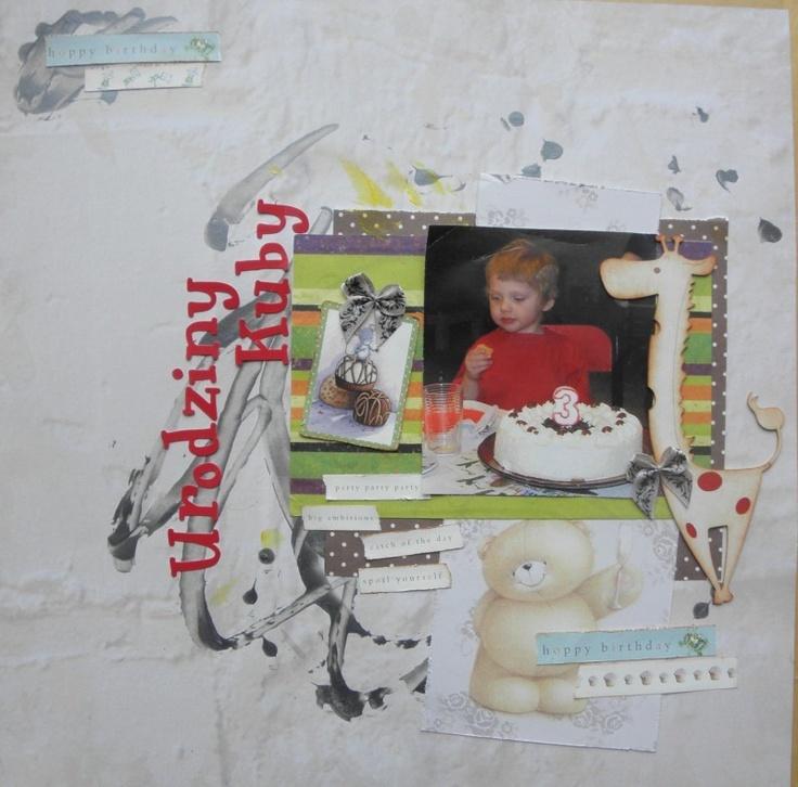 goscrap.pl Przegląd Waszych prac II // GOscrap Fan Art Gallery II » goscrap.pl by Krulik #scrapbooking
