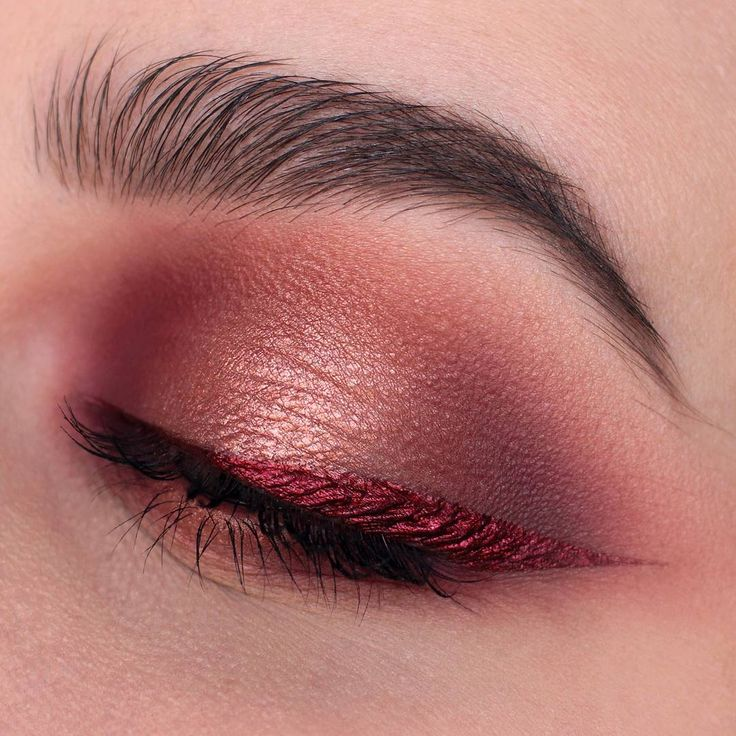 "- NABLA Cosmetics (@nablacosmetics) on Instagram: ""This fabulous dark ruby red eyeliner is 'CRUEL JEWEL' Pinterest: miathegemini1"