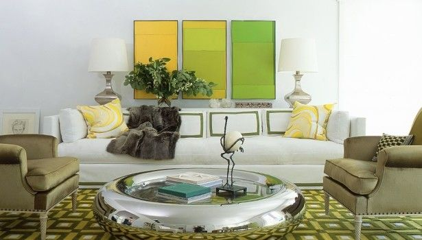 Furniture Unique Circle Table Furniture Ideas Elegant Chairs Furniture Ideas Green Rug Decorating And White Green Yellow Classy Living Room Design This Extraordinary Modern Sofas Decoration Will Enchant Your Eyes And Bring Coziness