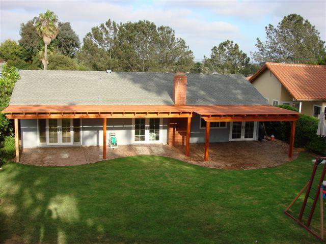 covered patio designs on a budget precast columns - Patio Home Designs