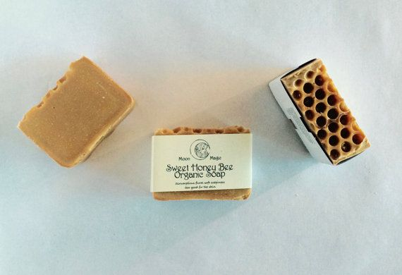 Honey Bee, scrumptious organic soap!