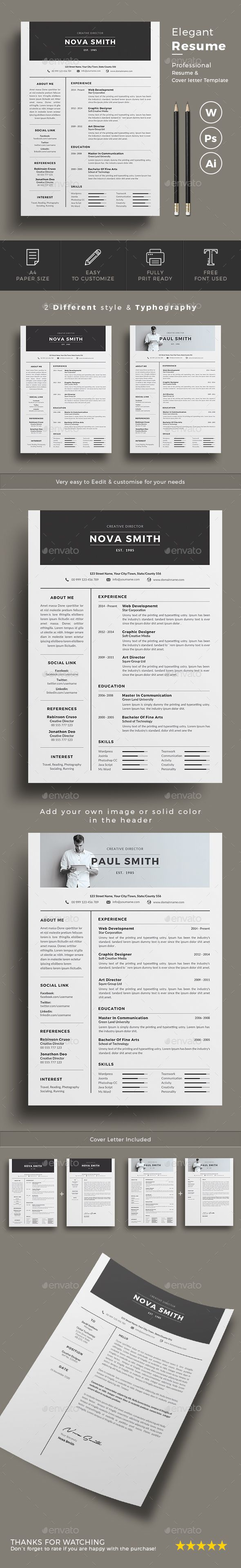 #Resume - Resumes Stationery Download here:  https://graphicriver.net/item/resume/20041695?ref=alena994