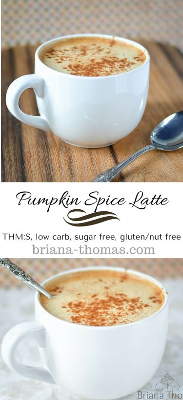 Pumpkin Spice Latte...THM:S, low carb, sugar free, gluten/nut free...who needs Starbucks?