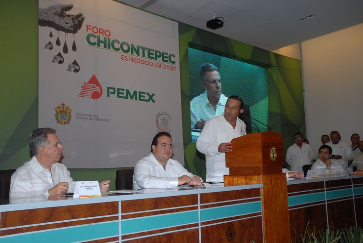 Se informó que para fin de año se estima una producción de 70 mil barriles de petróleo, lo que representa un incremento del 40 por ciento de la producción. Además se han canalizado 400 millones de pesos en obras de infraestructura de 9 municipios veracruzanos y tres de Puebla.