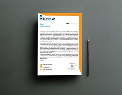 Best 25+ Business letter head ideas on Pinterest Sample letter - company letterhead samples free download