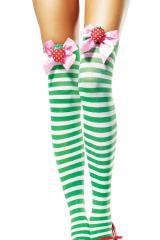 Strawberry Shortcake knee-high stockings - UBERCUTE!