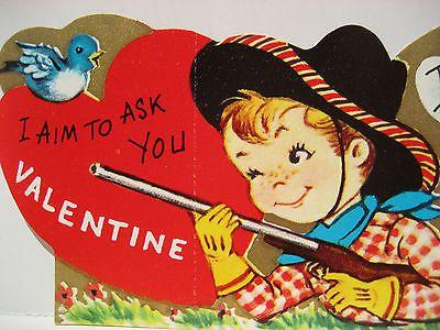 90 best Vintage valentine Cards Cowboys Cowgirls images on – Vintage Valentine Cards to Print