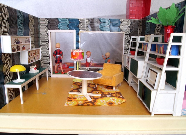 1960er Modella Wohnzimmermöbel by diepuppenstubensammlerin, via ...