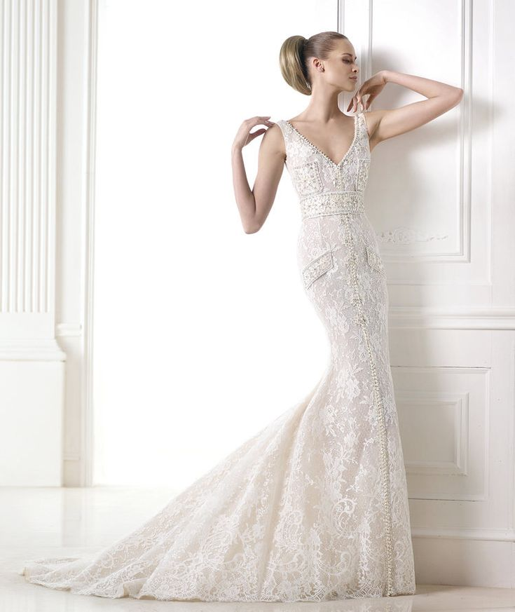 Wedding dresses from the Atelier 2015 - Pronovias collection