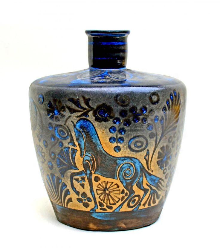 Vase Art Déco Primavera/Buthaud