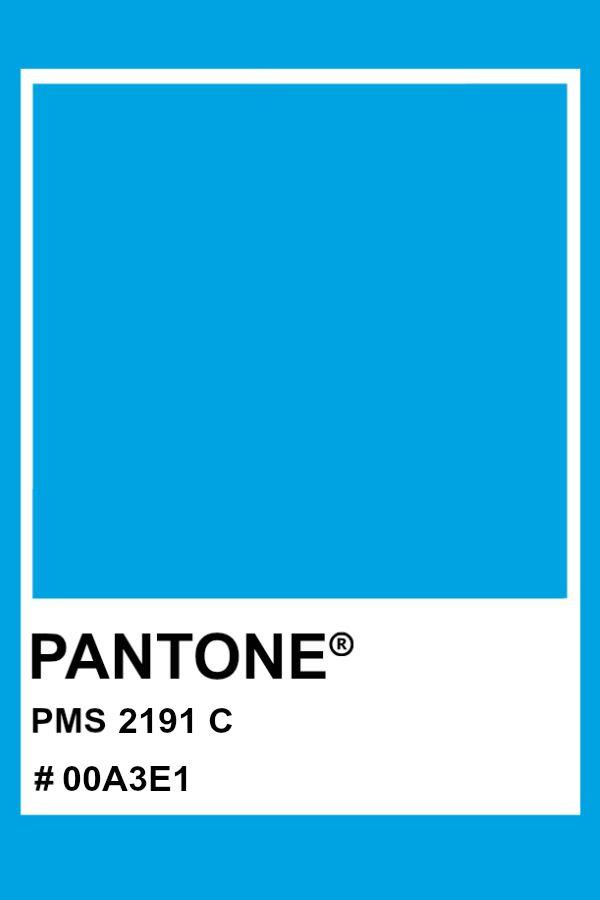 Pantone 2191 C Pantone Color Pms Hex Blue In 2020 Pantone