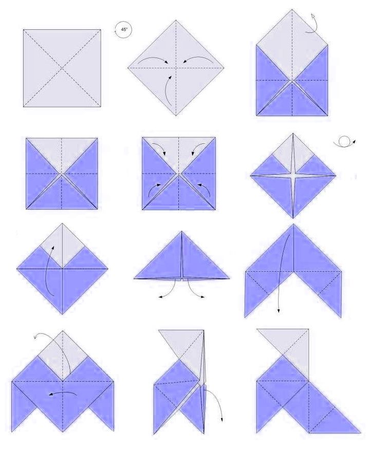 Pajarita Papiroflexia Papiroflexia Como Hacer Pajaritas Como Hacer Origami