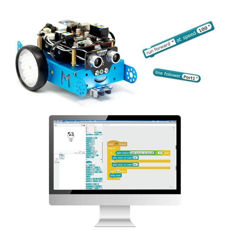 mBot Kit - All-in-One Learning Robot for beginners. Learn robotics, electronics, and programming.