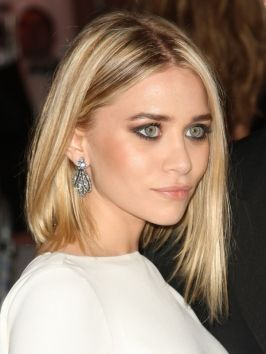 Ashley Olsen's Slanted Bob Hairstyle