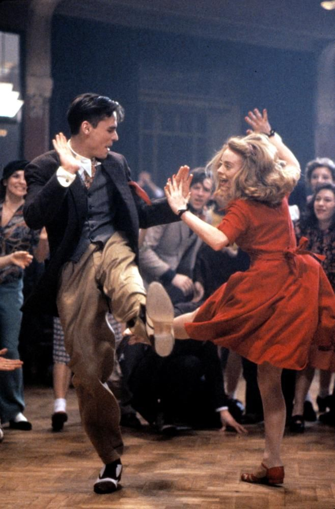"Robert Sean Leonard and Tushka Bergen, ""Swing Kids"""
