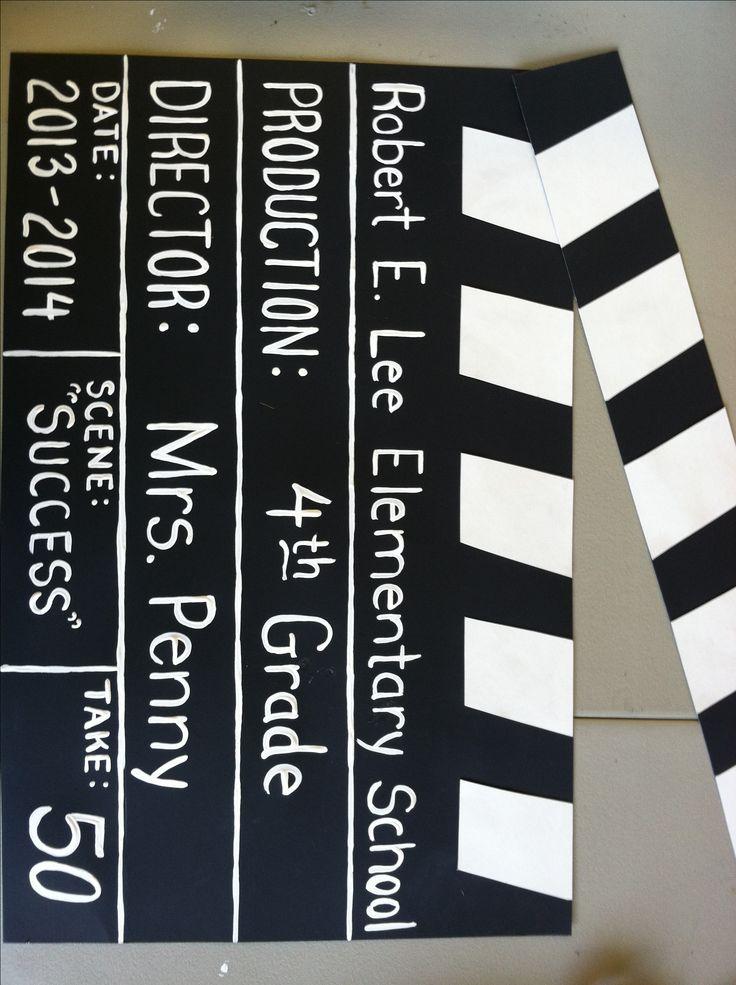 Movie Themed School Bulletin Board My Creations