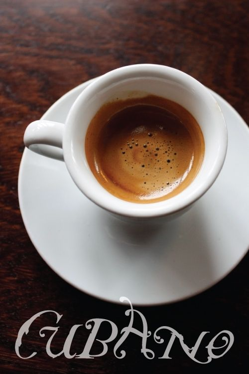 Café Cubano for this Americano - Time to pull the Mokka espresso maker out!!