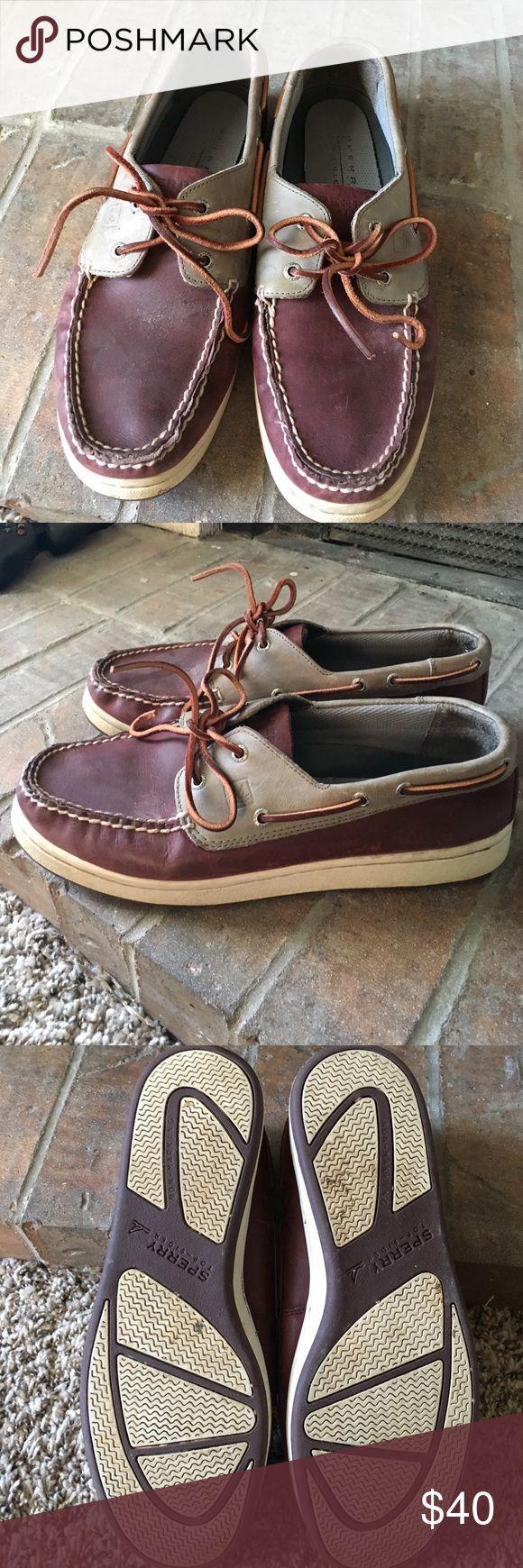 Men's Sperry Top Sider Men's Sperry Top Sider's SZ 10 Sperry Top-Sider Shoes Boat Shoes