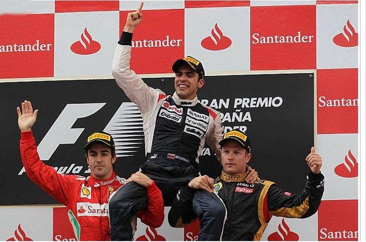 Pastor Maldonado gana en Montmeló de forma magistral! Orgullo de #Venezuela en la #F1