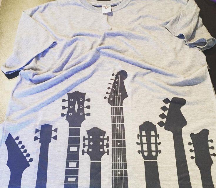 Guitar Necks SVG Cuttable Design